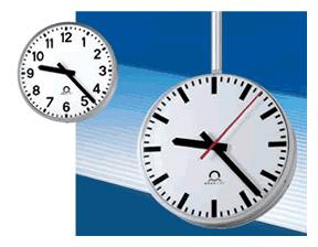 wharton analogue clocks for indoor applications. Black Bedroom Furniture Sets. Home Design Ideas