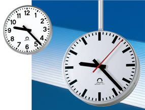 Metroline outdoor analogue clock range