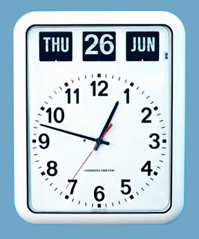 W2260A - BQ12 Large Flip type Calendar Clock for the Elderly