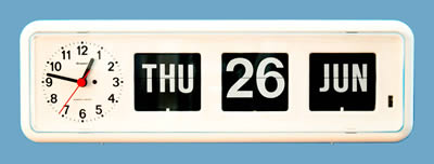 W2272a Bq38 Analog Calendar Day Date Clock