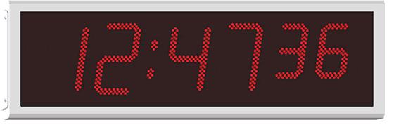 Waterproof Commercial And Industrial Digital Clocks
