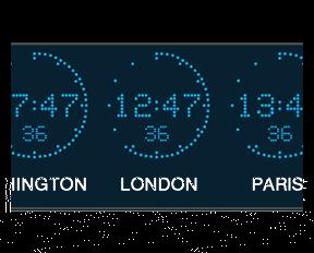 world time zone wall clock international time clock