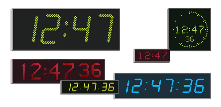 Digital Clocks for Schools & Gyms  Exam Room Clocks   Wharton