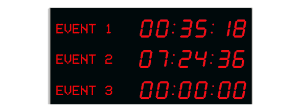 Large Stopwatches Count Up Amp Countdown Timer Counters